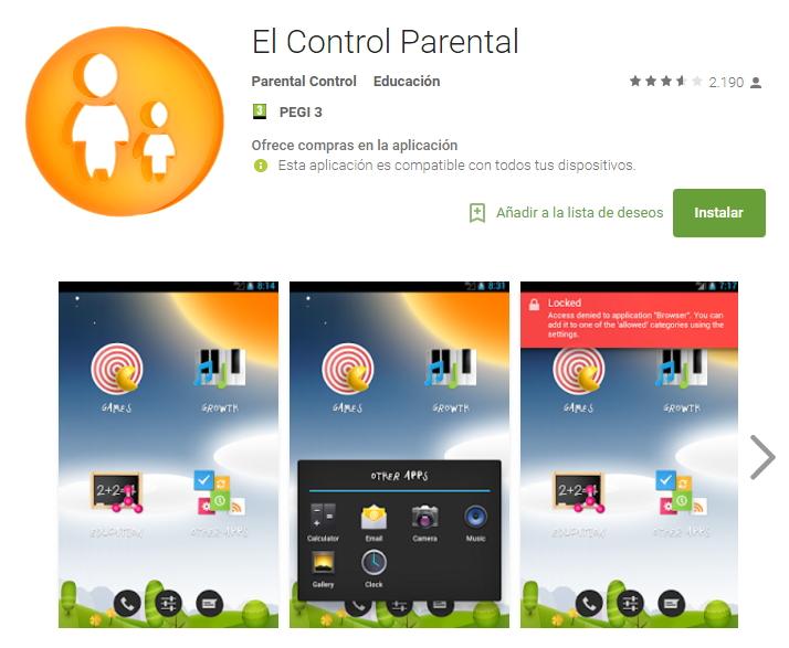 Primerizos digitales control parental control parental app