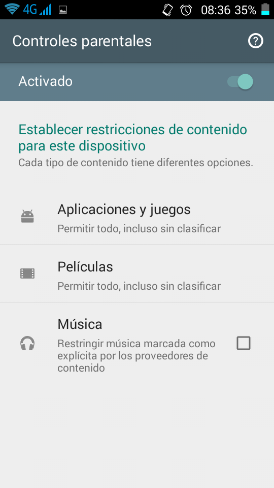 Control parental Android Tipos de filtros Primerizos Digitales