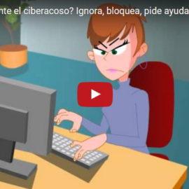 ¿Cómo actuar ante el ciberacoso? Ignora, bloquea, pide ayuda y denuncia